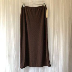 Amanda Smith Animal print long skirt